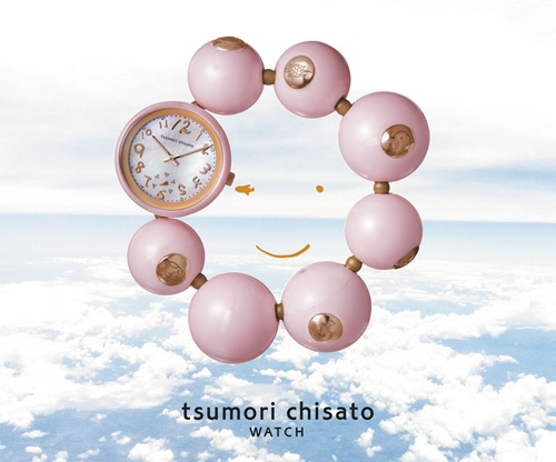 [tsumori chisato] happy ball bracelet watch