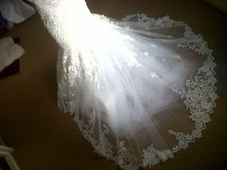 Monika's wedding dress
