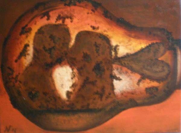 Brandende liefde 60x80 cm
