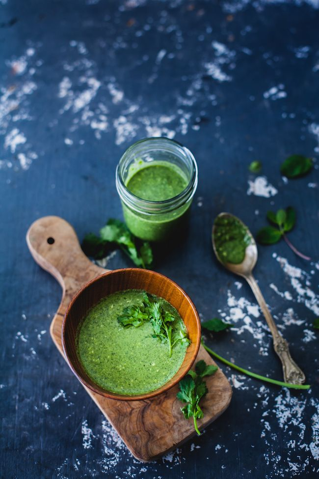 Horseradish Salsa Verde Recipe — Dishmaps