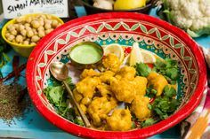 A delicious Indian by Chef Simon Majumdar. Cauliflower Pakora! Tune in to Home & Family weekdays at 10a/9c on Hallmark Channel!