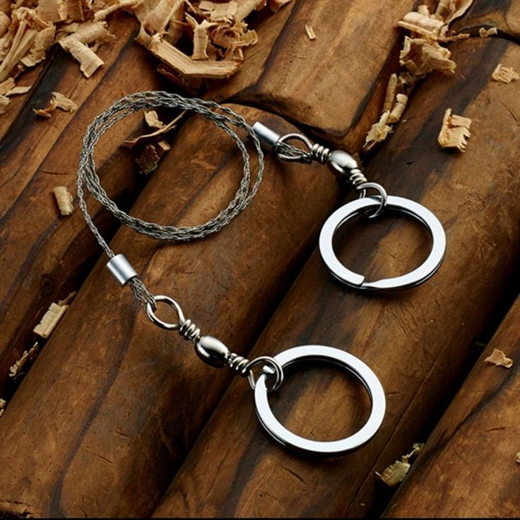 High Quality Stainless Steel Wire Saw for Emergency and Survival Gear #survivalideas
