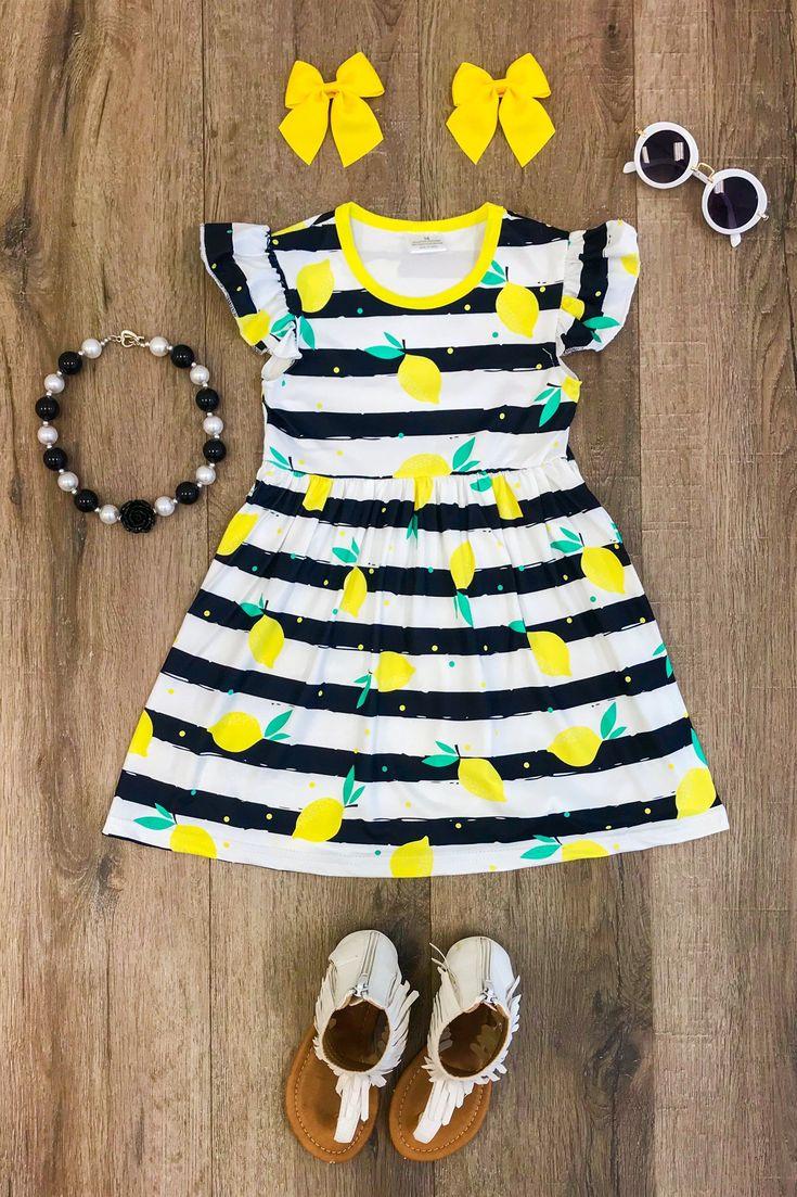 Lemonade Stripe Dress
