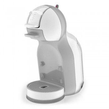 Mini Me White&Grey Krups KP1201 - Macchine - NESCAFÉ® Dolce Gusto®. Divertente fuori, seria dentro: ecco MINI ME!  La nostra nuova macchina automatica ha un design accattivante, ma è anche professionale, con i suoi 15 bar di pressione e la tecnologia Play & Select. Acquistala qui: https://www.dolce-gusto.it/macchine-caffe/mini-me-krups-white-grey-kp1201