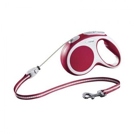 Flexi Vario cord medium red 5 meter - Flexi dog lead Flexi M medium - globaldogshop.com