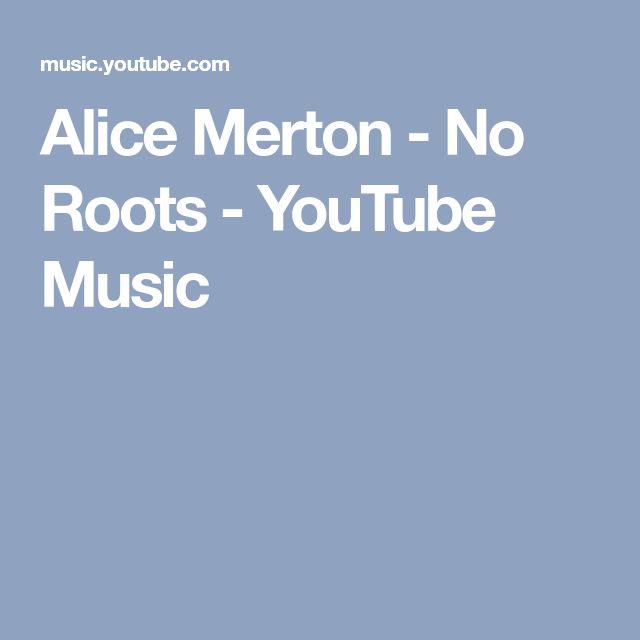 Alice Merton - No Roots - YouTube Music