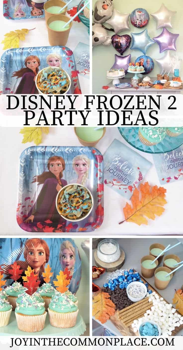 Host A Disney Frozen Party Hot Chocolate Station With Images