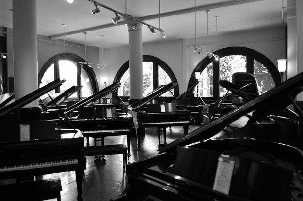 Underground Theater Discovered Below Boston Piano Store