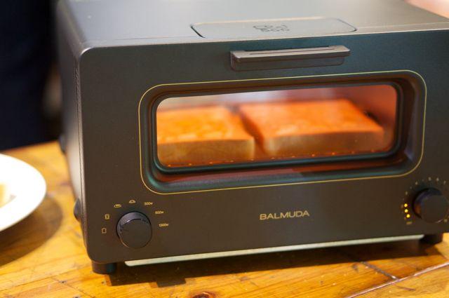 「味をデザインした」トースターで最高のトーストが焼き上がります