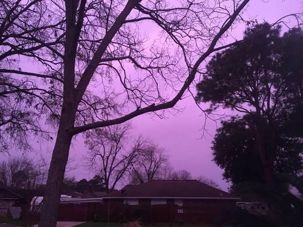 02/20/2017 - Houston-area residents woke up to a colorful view as severe thunderstorms began to roll in Monday morning, and this time, it wasn't a rainbow.