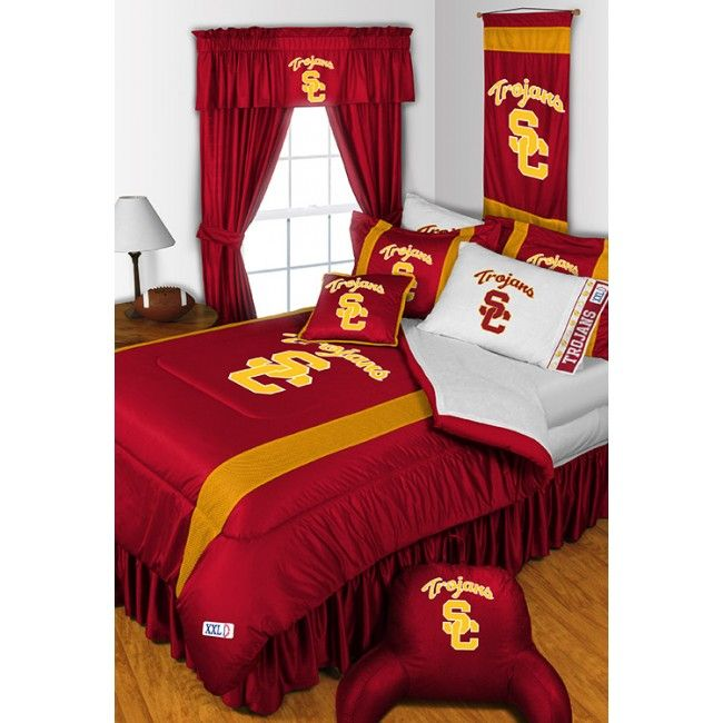 NCAA USC Trojans College Bedding Sets From Bedding.com #FightOn Prices  Reduced Up To