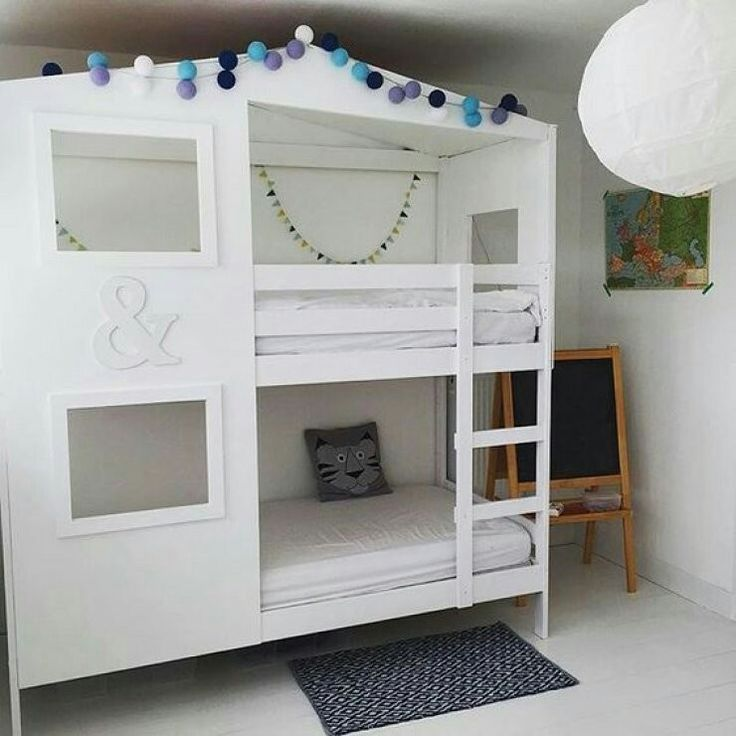 Ikea hack hochbett  44 besten Etagenbett/ Hochbett Bilder auf Pinterest | Etagenbett ...