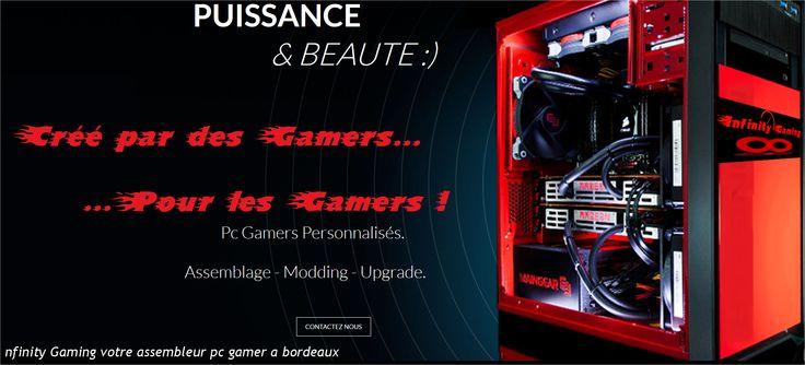 Config #pc #gamer #bordeaux gironde - infinity Gaming votre assembleur pc gamer a bordeaux
