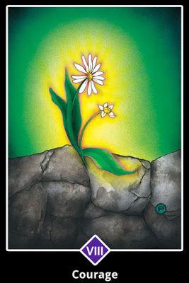 Cartas do Destino: Osho Zen Tarot - 8. Arcano Maior ― Coragem