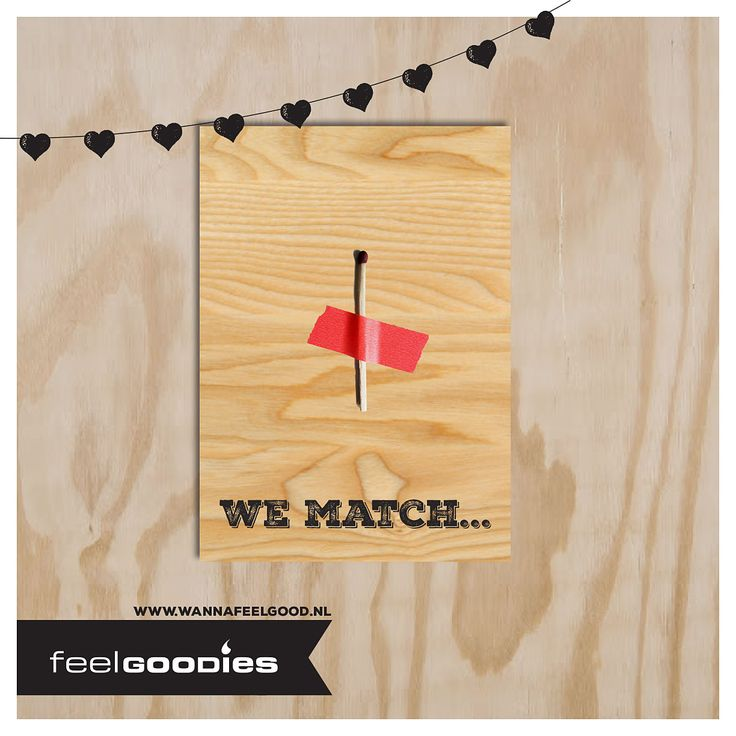 #Valentine #Candle Card, We Match.