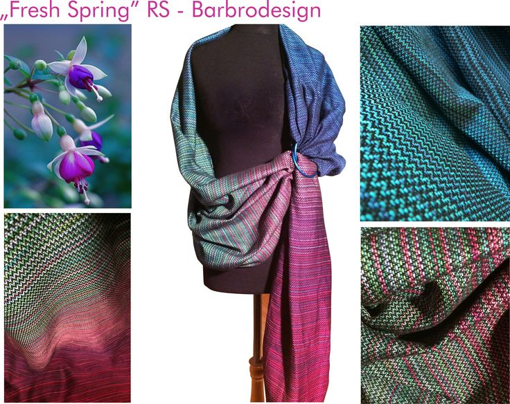 Handwoven Ring Sling from Barbrodesign. :)