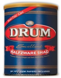Drum premium handrolling tobacco is a classical blend of fine bright and dark tobaccos. The choice tobaccos are expertly selected and blended to give a rich, full and impeccably traditional European taste.