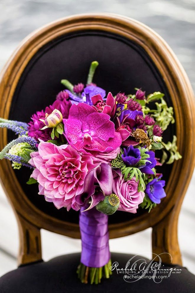 wedding ideas vibrant orchid pantone 2014 color of the year 3 17 Ways to Make Radiant Orchid Happen in Your Wedding