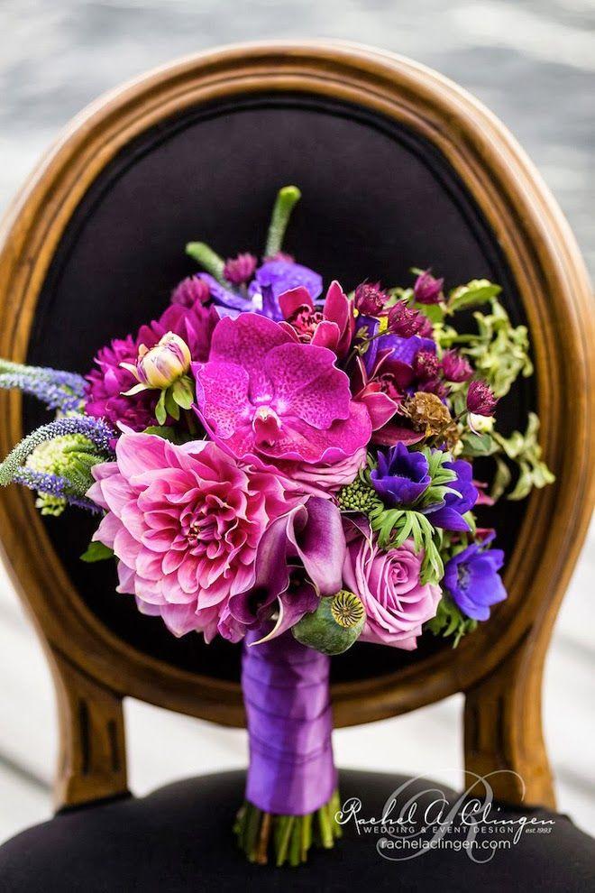 Lavish purples ~ Photography: Rowell Photography, Floral Design:Rachel A. Clingen
