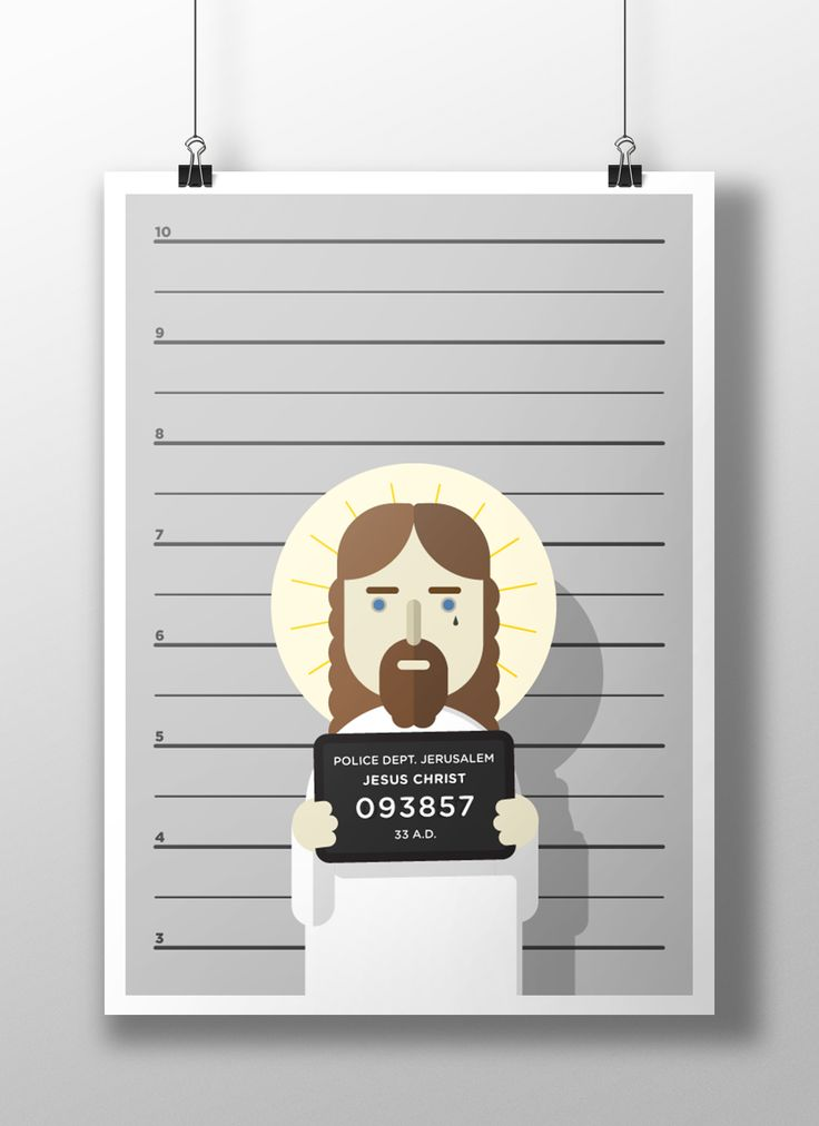 Jesus's arrest on Behance