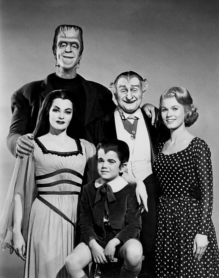 The Munsters...Always liked them better than the Addams Family tv Show