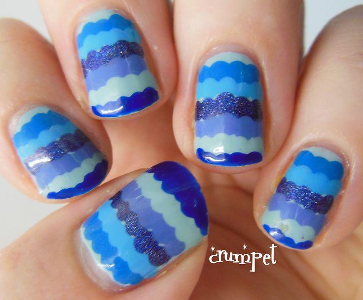 The Crumpet: Digital Dozen Does: BLUE - Ruffles