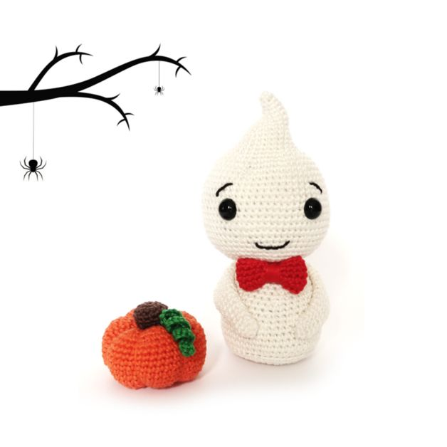 Crochet Tutorials – Halloween GHOST Crochet Pattern – a unique product by RoKiKi on DaWanda