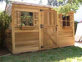 Cedar Shed 100 Square feet   Home » Cedar Sheds » Cedarshed - Cabana 12x8 Shed