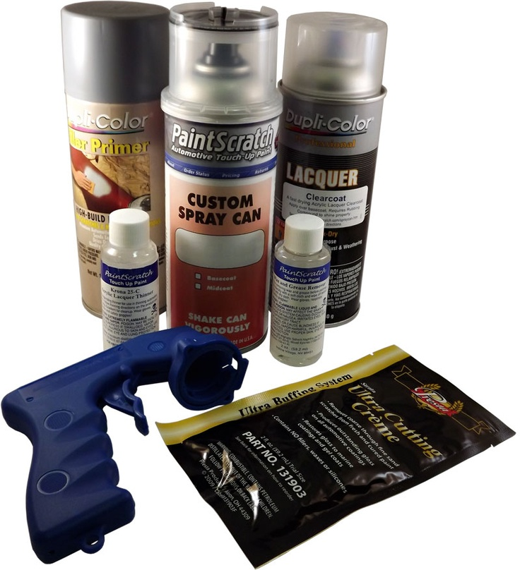 These #spray paint kit is to help make your touch up project a success!