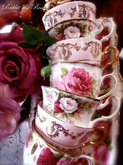 Teacups ...♥♥...