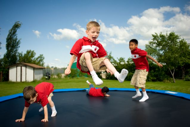 Trampolines are good for health and are excellent for the whole family to have fun together. There are many types of trampoline as: Round, Rectangular, Oval and octagonal trampoline sizes and prices vary.