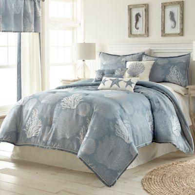 Siesta Key Comforter Set in Blue - BedBathandBeyond.com