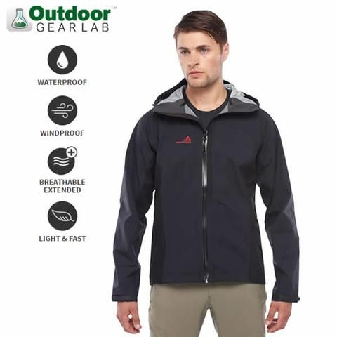 Westcomb Men's Shift LT Hoody Hardshell Jacket - ultralight, ultrabreathable wind and waterproof jacket