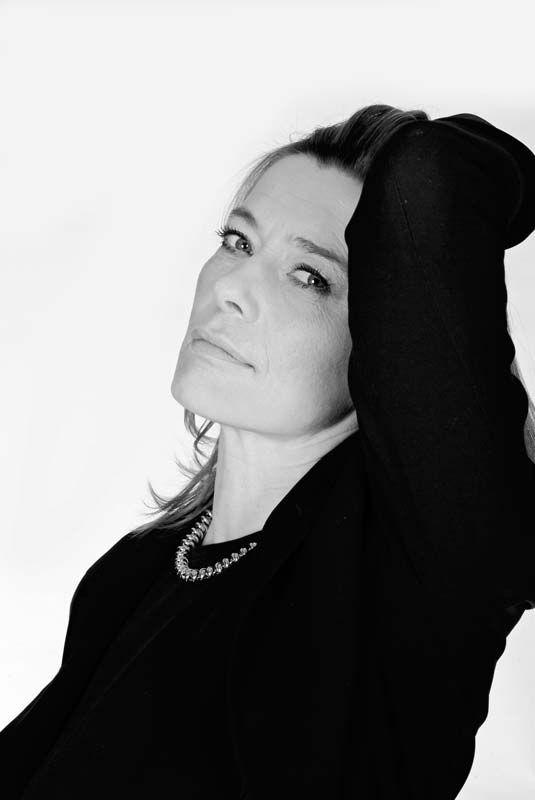 Barbara Rudnik (1958-2009) - German actress. Photo © Kay Zimmermann