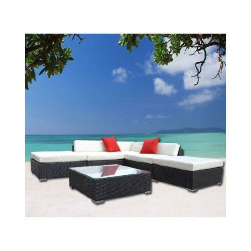 Outdoor Furniture Deep Seating Group with Cushion (Set of 6)  $1,199.00