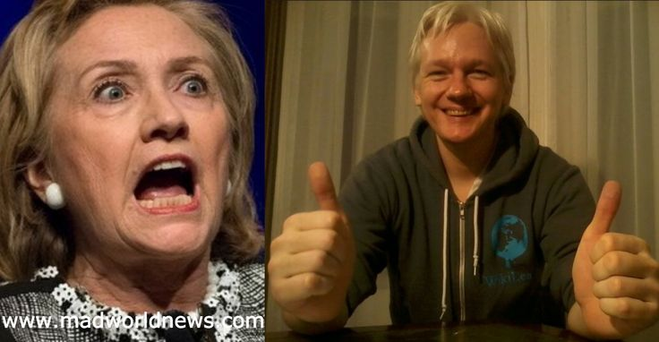 With just a little over 2 weeks before the presidential election, Hillary Clinton is pulling out all the stops to keep Julian Assange's mouth shut. With no success at actually killing him, her minions did the next best thing by cutting off his internet at the embassy several days ago. Unfortunately for Hillary, a damning list has just been released, highlighting the things she's done against the very country she seeks to lead.