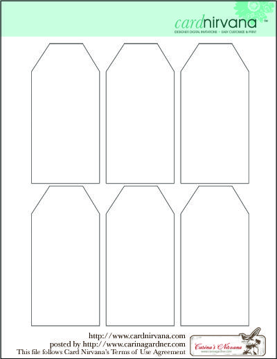 Blank Tag Printable