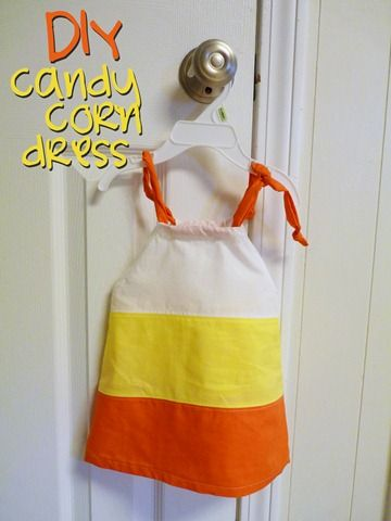 DIY Candy Corn Dress