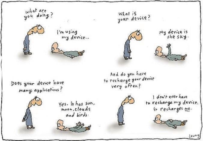 from Michael Leunig.