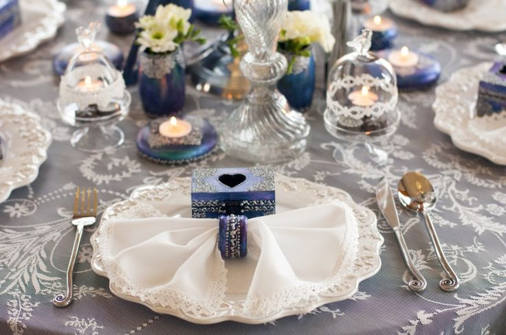 We've long had in mind to use our Winter Fairytale collection in a styled shoot…