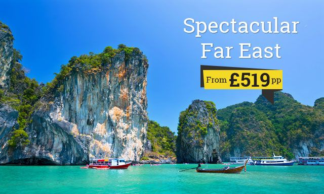 Far East  deals Starting from 519