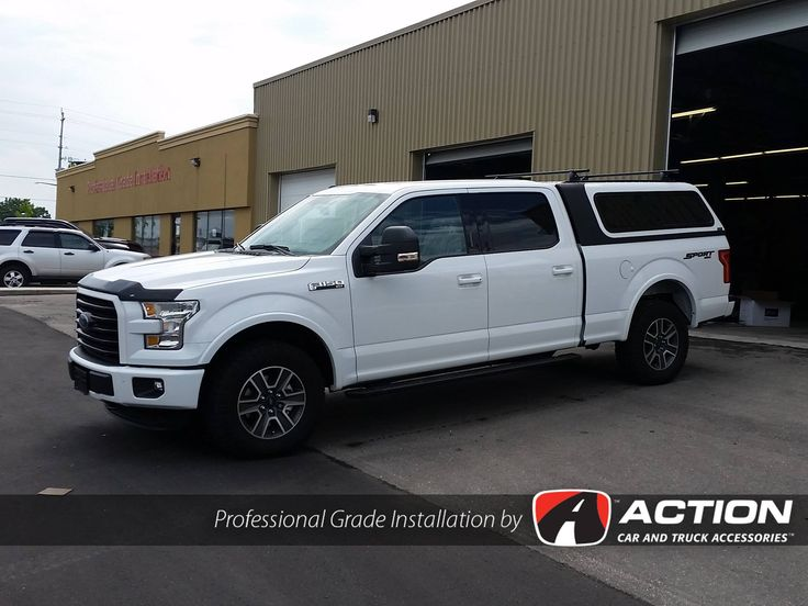 Overland Series Cap By A.R.E. Truck Caps And Tonneau Covers With Yakima  Racks Roof Rails Installed On A New 2016 F150! #ProfessionalGradeInstallatiu2026