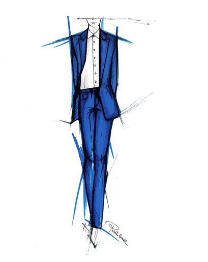 Milan Men's Fashion Week Preview - Designers Spring 2013 Sketches: Roberto Cavalli