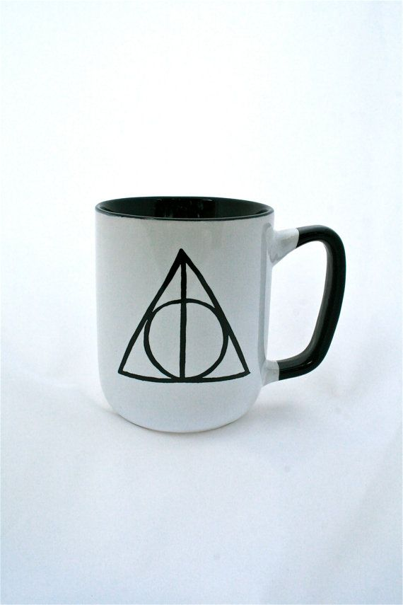 Harry Potter R Deathly Hallows R Inspired Mug by Mugoos on Etsy, $16.00