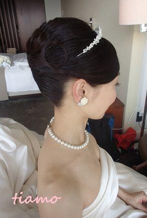 「 CUTEな花嫁さまの3チェンジで素敵な一日♡前編♡ 」の画像|大人可愛いブライダルヘアメイク『tiamo』の結婚カタログ|Ameba (アメーバ)