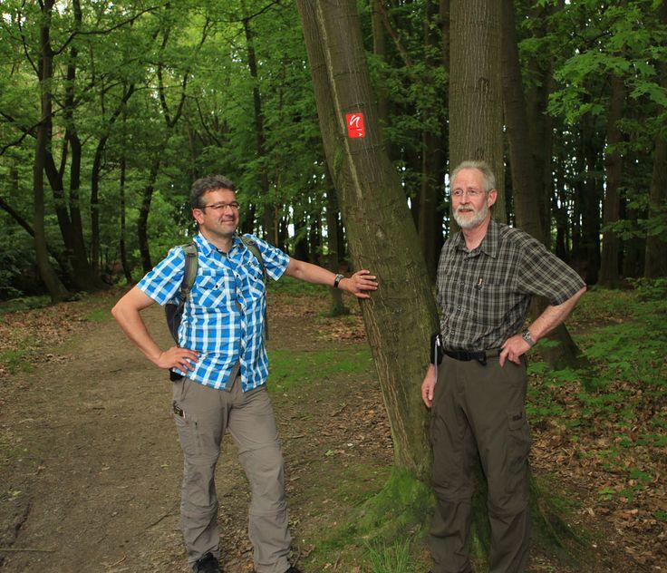 Wanderung mit Manuel Andrack auf dem Neanderlandsteig. #wandern #alpen