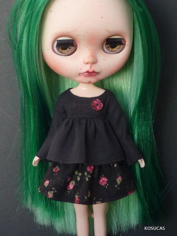 Outfit for Neo Blythe dolls. por Kosucas en Etsy