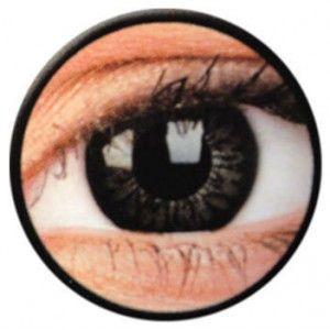 Lentile de contact colorate negre Big Eyes Dolly Black - http://lensa.ro/lentile-contact-colorate/big-eyes/dolly-black