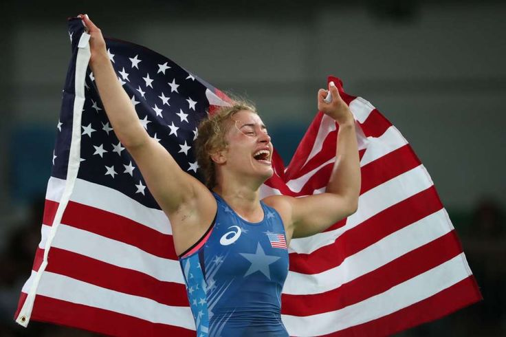 Why Helen Maroulis' wrestling gold was so significant for America:  August 19, 2016