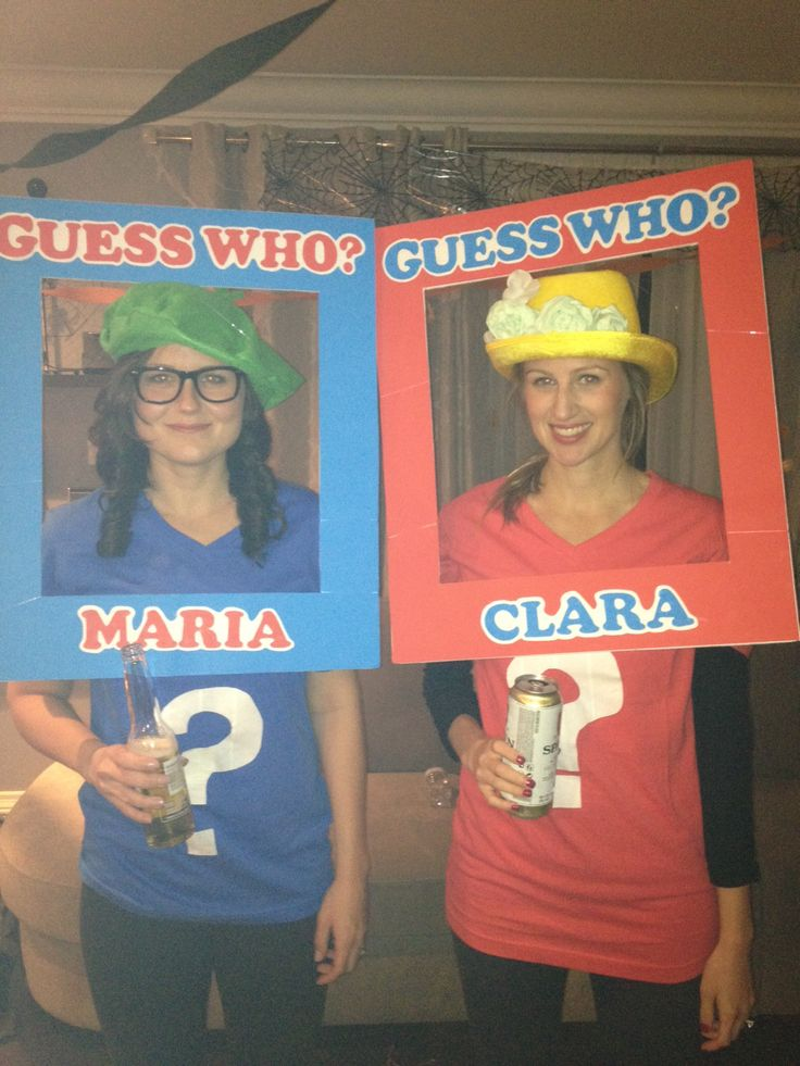 diy guess who character costume easy halloween